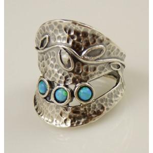 Inel argint  -102652 opal