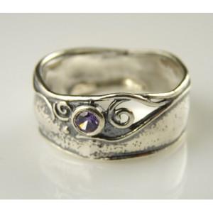 Inel argint ametist -R1175