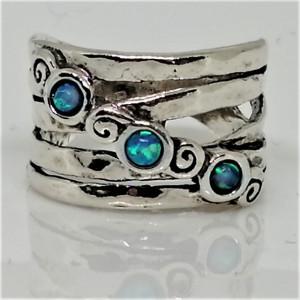 Inel argint opal R11557
