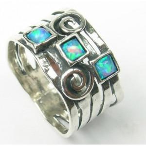 Inel argint opal R3815