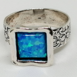 Inel argint opal -R4267