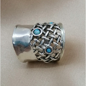 Inel argint opal R8111