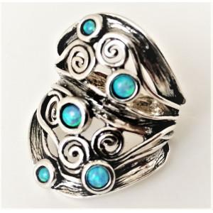 Inel argint opal R8454