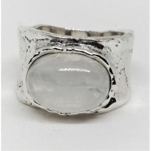Inel argint piatra lunii- R5023
