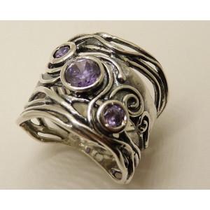 Inel argint R1242- ametist