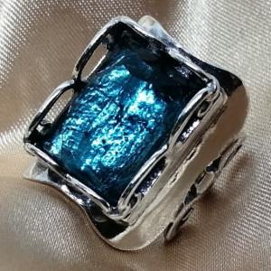 Inel argint R3174 - topaz