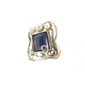 Inel argint R5471 - lapis lazzuli
