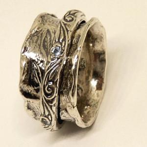 Inel argint topaz R1632