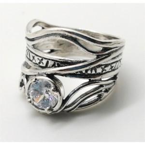 Inel argint zircon R971
