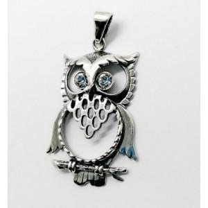 Pandantiv argint - bufnita- E1324