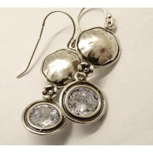 Cercei argint -zircon E11365-1