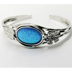 Bratara masiva argint- B1683 opal imperial