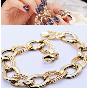 Bratara MILANO-argint placat cu aur galben-BRJJ1023RHMIX