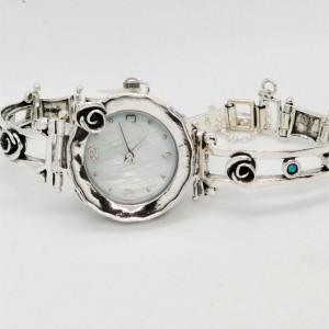 Ceas argint cu opal W4064-2