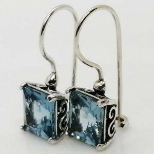 Cercei argint cu Topaz E4304