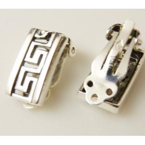 Cercei argint E2735 prindere cu CLIPS