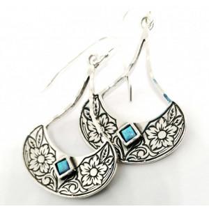 Cercei argint E6033 opal