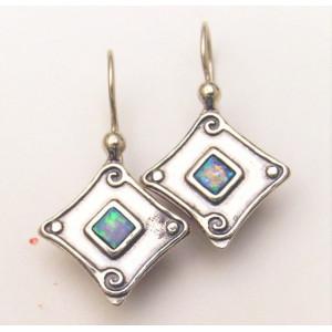Cercei argint OPAL- E1909