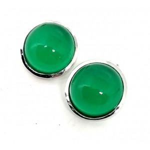 Cercei argint -VE017562 onix verde