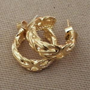 Cercei bizantini -argint placat cu aur -ORJJ1013PLPGI