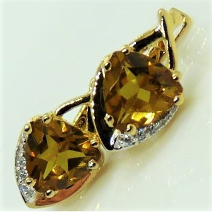 Cercei Nona-argint placat cu aur galben -VE030372 -Nanozultanit