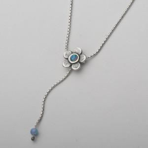 Colier argint cu opal N162