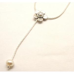 Colier argint cu perla N162