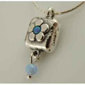 Colier argint opal N1492