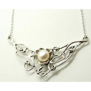 Colier argint perle N10534