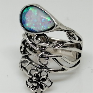 Inel argint opal R10981