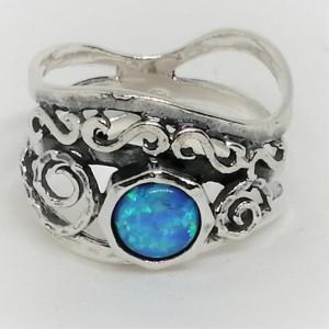 Inel argint opal R4263