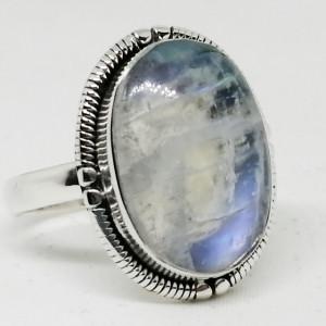 Inel argint - R35 piatra lunii