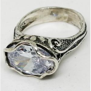 Inel din argint zircon R1580