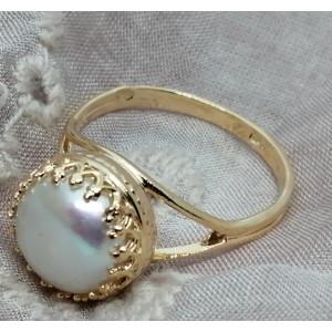 Inel goldfilled perla 101911