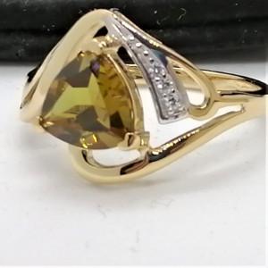 Inel Tessa -argint placat si aur -Nano Zultanit VR032984
