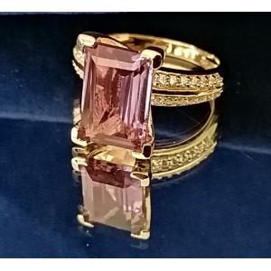 Inel Zoe -argint placat cu aur si alexandrit VR033234