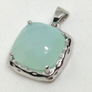 Pandantiv argint calcedonie -VP09801