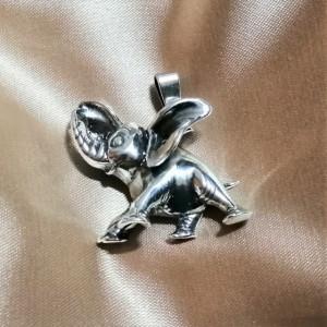 Pandantiv argint -Elefant - P1199