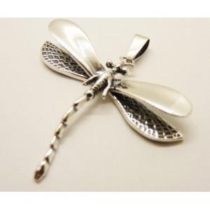 Pandantiv argint P377- libelula