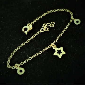 Bratara din argint placata cu aur galben-B3205