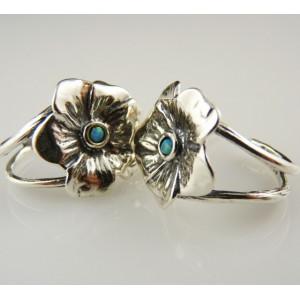 Cercei argint cu opal E5139-E4369A