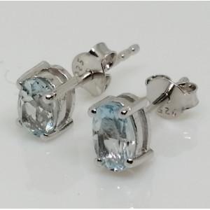Cercei argint topaz-VE014818