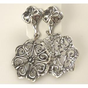 Cercei lungi din argint- tip candelabru- E10756-1