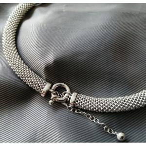 Colier argint gros cu pandantiv perlă- CTSI0105RH9