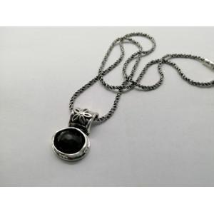 Colier argint Onix N708