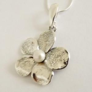 Colier argint perla N863-1481