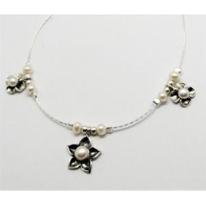 Colier argint perle-N5633-3