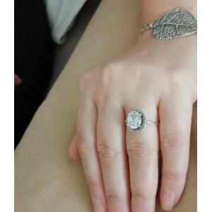Inel argint cubic zircon R1694