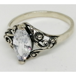 Inel argint delicat R585- ZIRCON