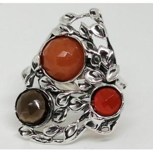Inel argint multi pietre-R5795